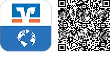 """QR-Code für die App """"VR International"""""""